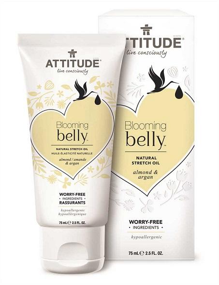 Óleo natural prevenção estrias - Blooming Belly