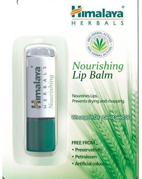 Bálsamo labial com óleos vegetais - Himalaya Herbals