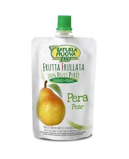 Puré de pêra Bio doypack Natura Nuova