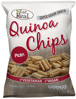 Snack de quinoa, vegan - Eat Real