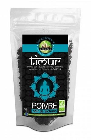 Pimenta preta do Nepal em grão biológica