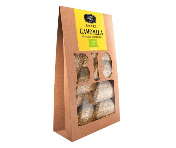 Chá de camomila biológico em saquetas, Lisbon Tea Co.