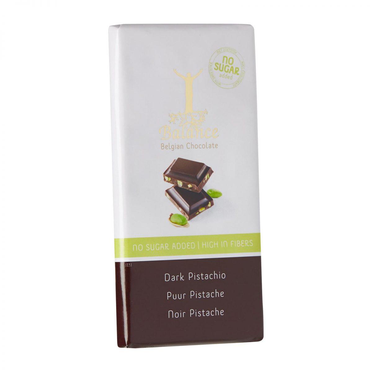Chocolate com pistachio sem açucar