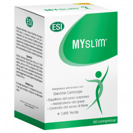 Myslim, Garcinia Cambogia e café verde, 60 comprimidos