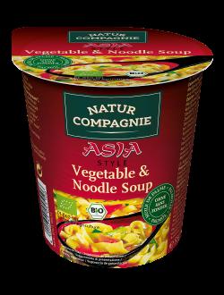 Sopa de Noodles e Vegetais