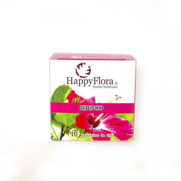Chá de flor de Hibisco, 10 saquetas