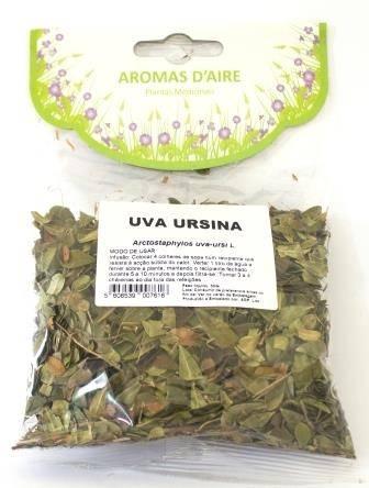 Chá de Uva Ursina, Aromas D'Aire