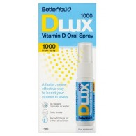 Vitamina D, 1000UI, spray oral - Better You