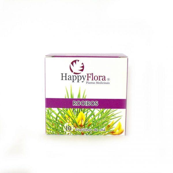 chá rooibos, 10 saquetas, happyflora