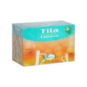 chá de tília, 20 saquetas, soria natural
