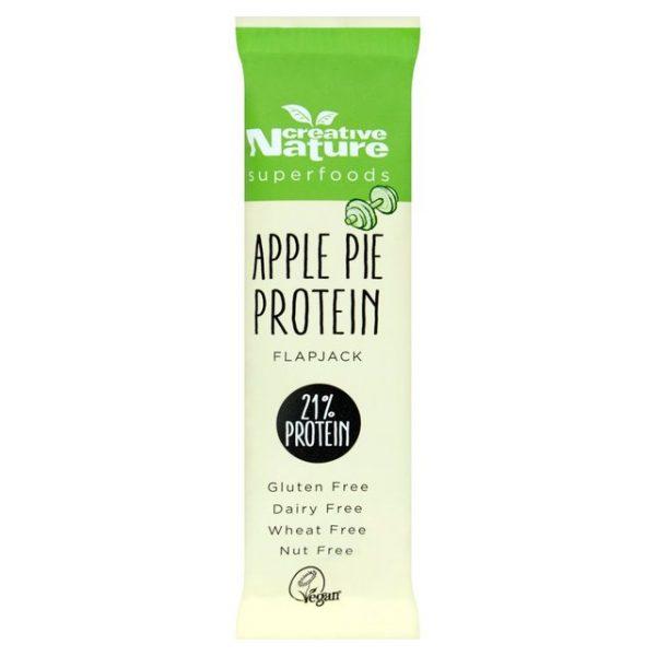 Barra proteica, Tarte de maçã, s/glúten