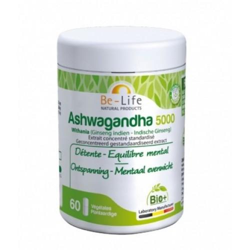 Ashwagandha 5000, 60 cápsulas, Be Life