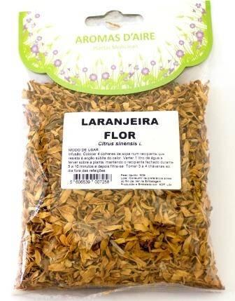 Chá de laranjeira Flor, Aromas d'aire