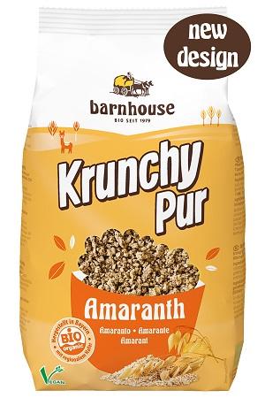 Granola com amaranto, biológica, Barnhouse