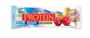 barra proteica caju e chocolate, sem glúten