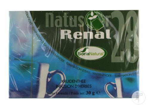 Natusor 28 Renal Plus, chá diurético