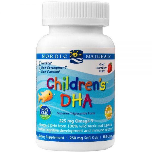 DHA (ómega 3) para Crianças, cápsulas