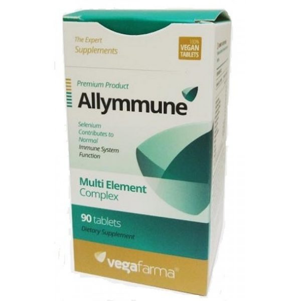 Allymmune, fortalecimento imunitário, 90 comprimidos