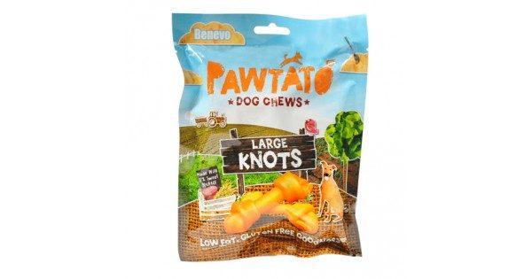 Snack vegan, batata e arroz, p/cão - Benevo