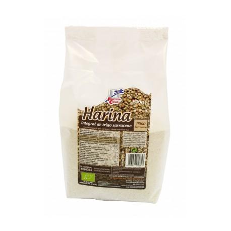 farinha de trigo sarraceno integral, biológica