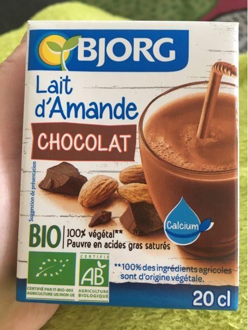 Bebida amêndoa chocolate, biológica, 200ml Bjorg