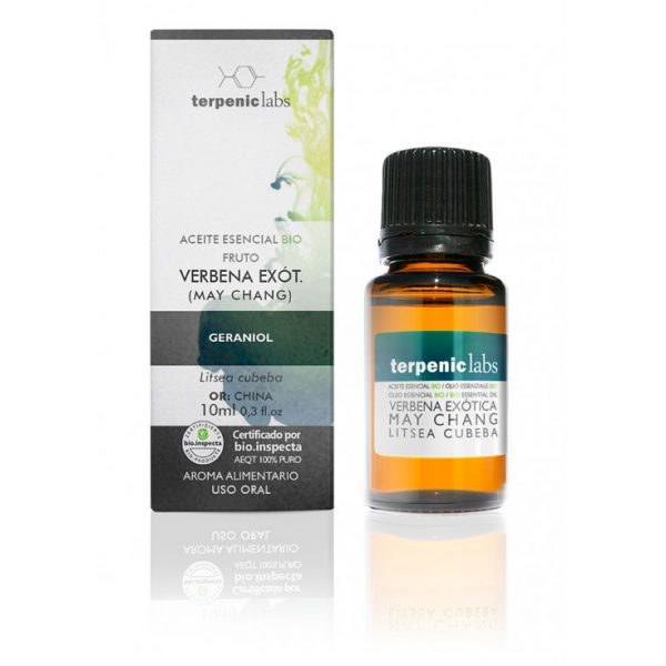 óleo essencial de verbena (litsea), biológico