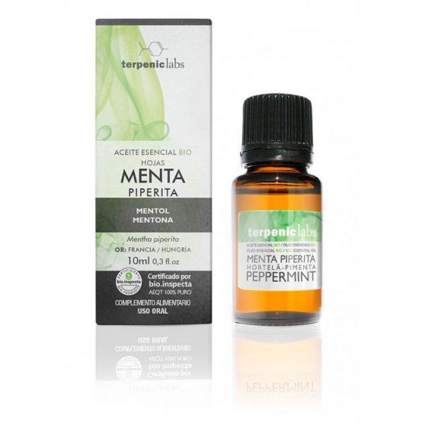 óleo essencial de menta (hortelã pimenta), biol.