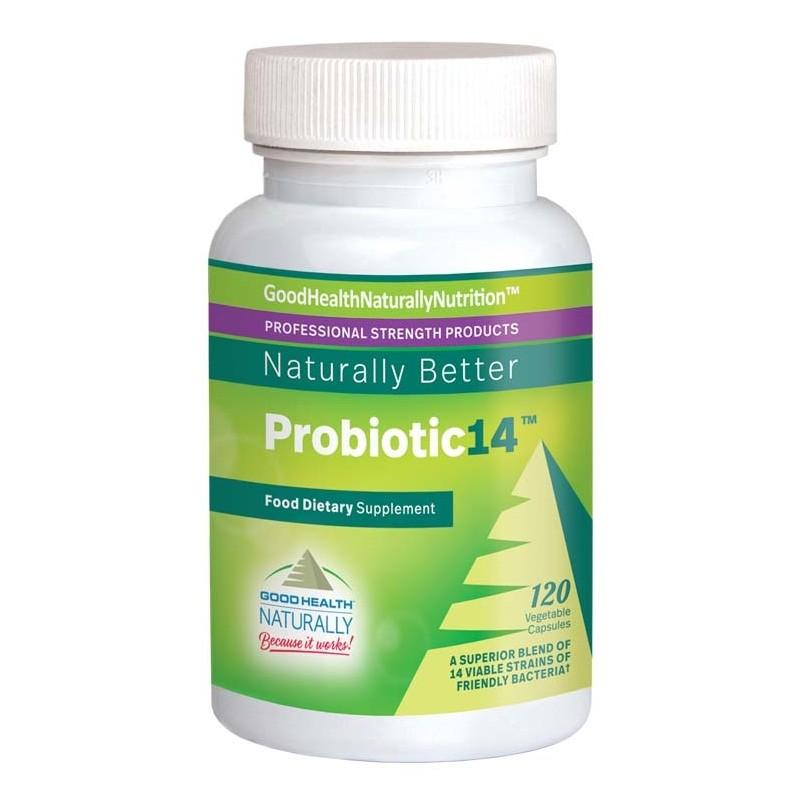 Probiotic 14, Fórmula prebiótica e probiótica