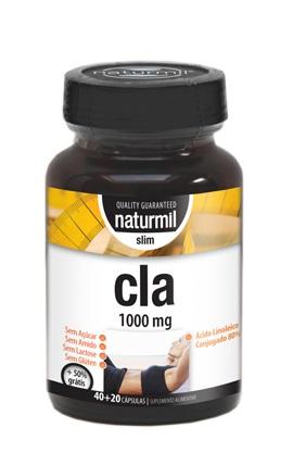 cla 1000 mg, 60 cápsulas, naturmil