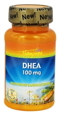 DHEA 100mg, 30 cápsulas, Thompson