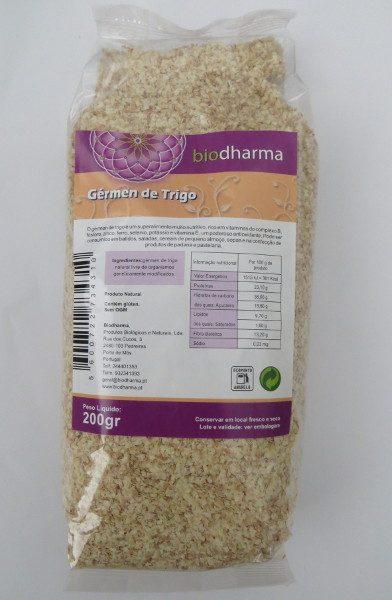 Gérmen de trigo, 200g, biodharma