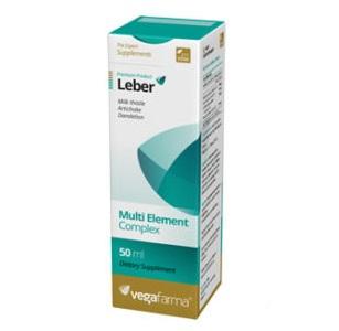 Leber, função hepática, 50ml, Vegafarma