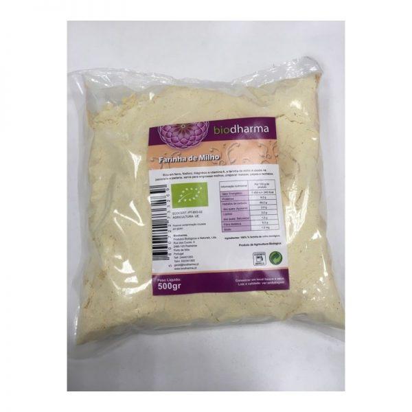 Farinha de milho biológica, 500g, Biodharma