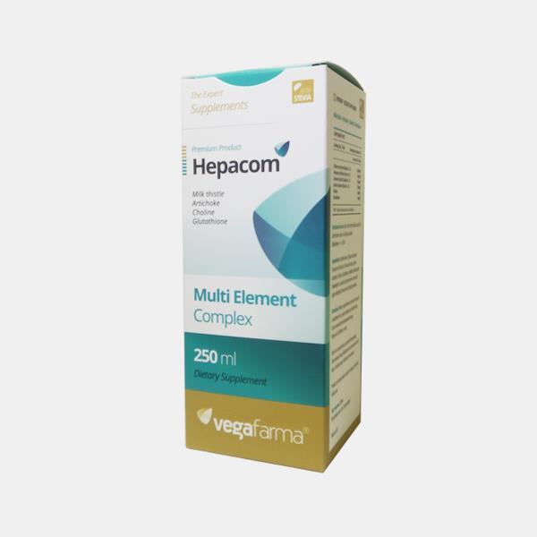 Hepacom, fórmula detox, 250ml, Vegafarma