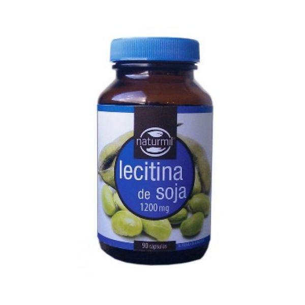 lecitina de soja 1200mg, 90 cápsulas, Naturmil