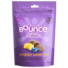 Snack proteico mirtilo-banana, sem gluten, Bounce