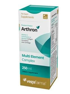 arthron - complexo para ossos e articulações, 250ml