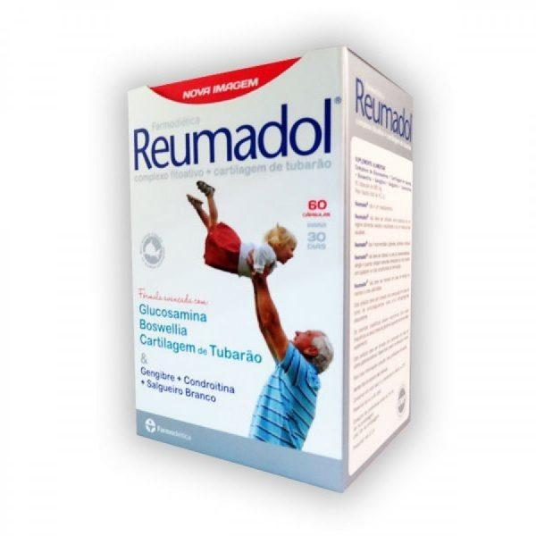 Reumadol, 60caps, ossos e articulações, farmodiética