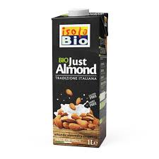 Bebida de amêndoa, sem glúten 1L, Isola Bio