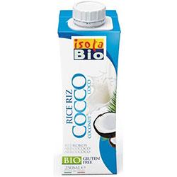 Bebida de Arroz e Côco, sem glúten, 250ml - isola bio