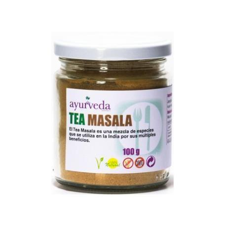 Tea Masala, especiarias ayurvedicas, 100g