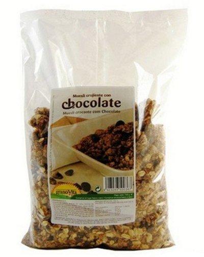 Muesli crocante, chocolate, 750g Granovita