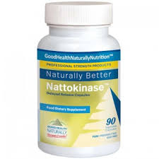 Nattokinase, 90 cápsulas, Good Health