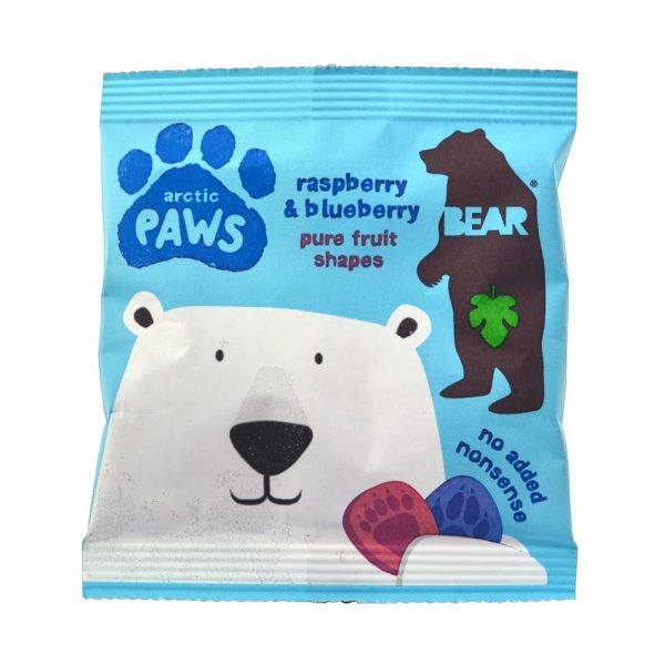 Gomas Framboesa, sem açúcar, Bear paws