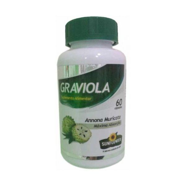 Graviola, 60 cápsulas, Sunflower
