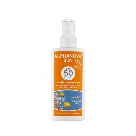 Protetor solar biológico, fator 50, Alphanova