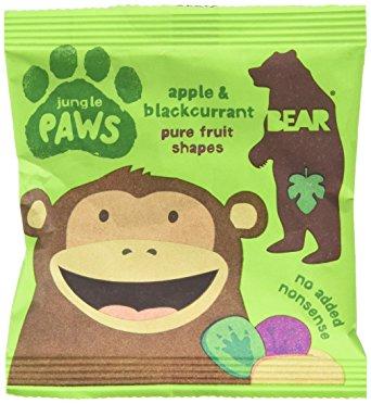 Gomas maçã-groselha, sem açúcar, Bear paws