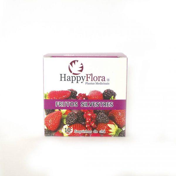 Chá Frutos Silvestres e Hibisco, 10 saquetas
