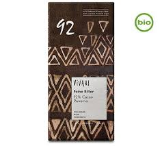 Chocolate preto do Panamá bio, 92% cacau, vegan