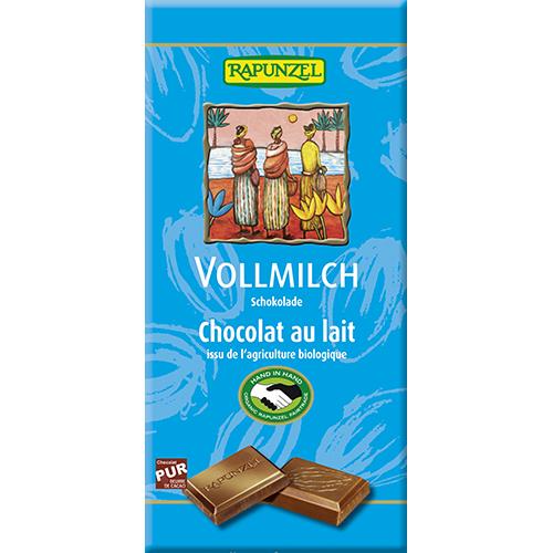 Chocolate com creme de côco, 80g, Rapunzel